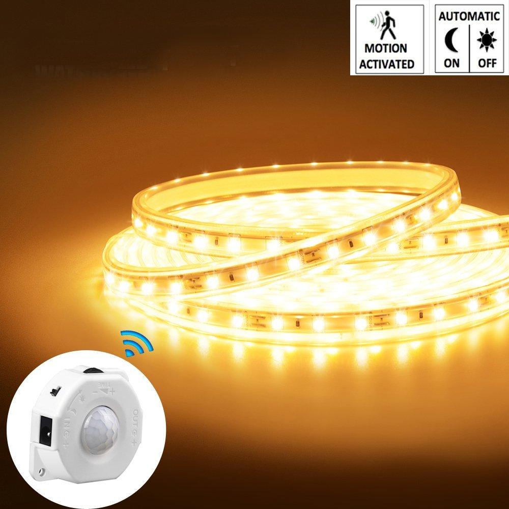 LUXJET – 5M LED Streifen Beleuchtung mit Bewegungsmelder