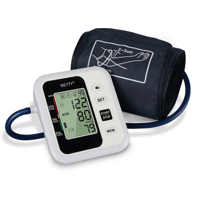 WeyTy – Oberarm Blutdruckmessgerät