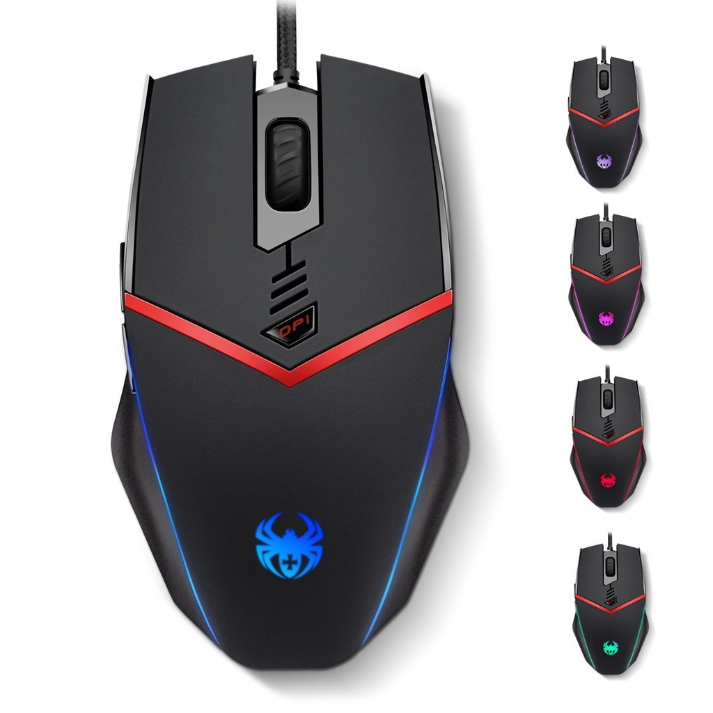 ZELOTES C13 Programmierbare Gaming Maus 3200 DPI USB