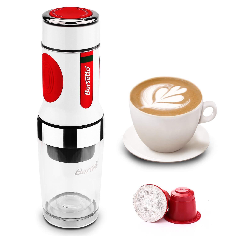 Barsetto – Stromloser Kaffeezubereiter für Kapseln und Pulver