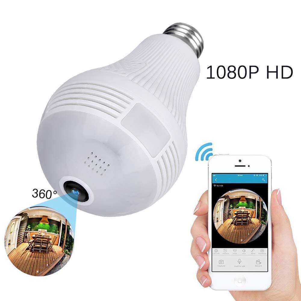 Uten – IP Sicherheit Kamera 1080P Panorama Kamera WLAN