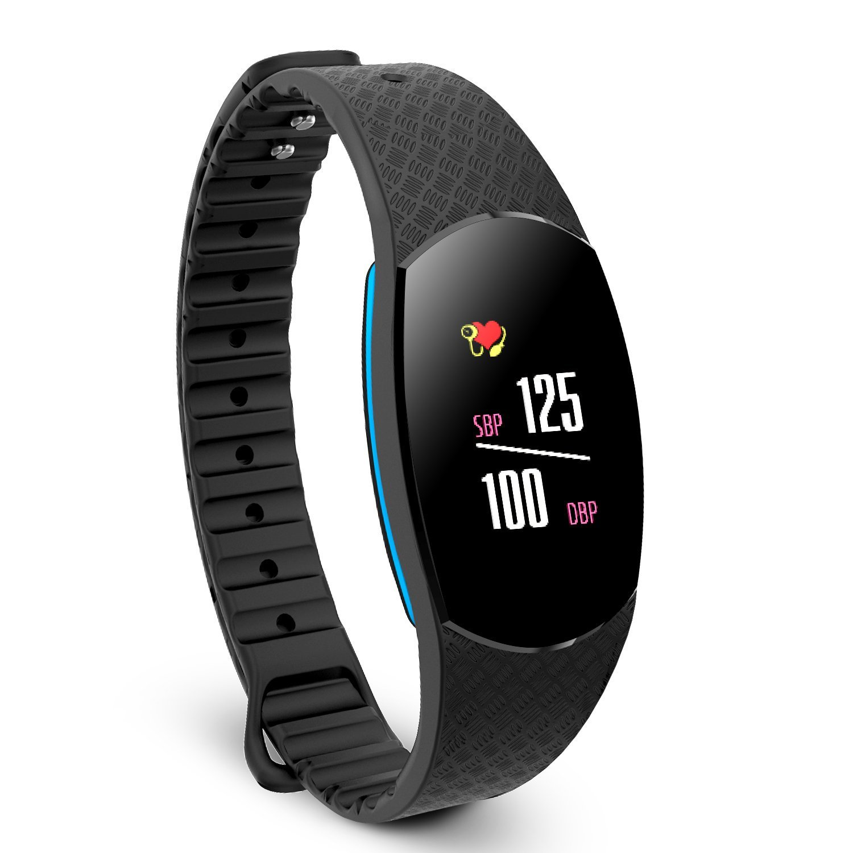 Paick – Fitness Tracker Herzfrequenz & Blutdruck Monitor Schlafmonitor Pedometer Aktivitäten Tracker