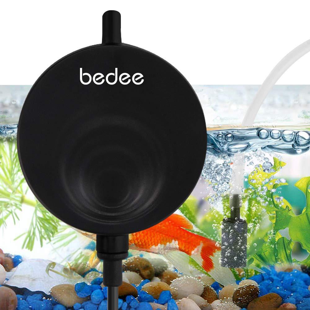 bedee – Aquarium Luftpumpe Pumpe Mini Sauerstoffpumpe